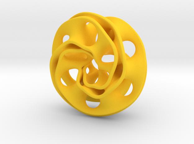 Scherk Pendant 3d printed