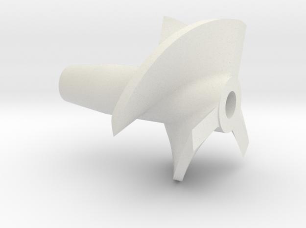 Propeller 3BL P18 R in White Natural Versatile Plastic