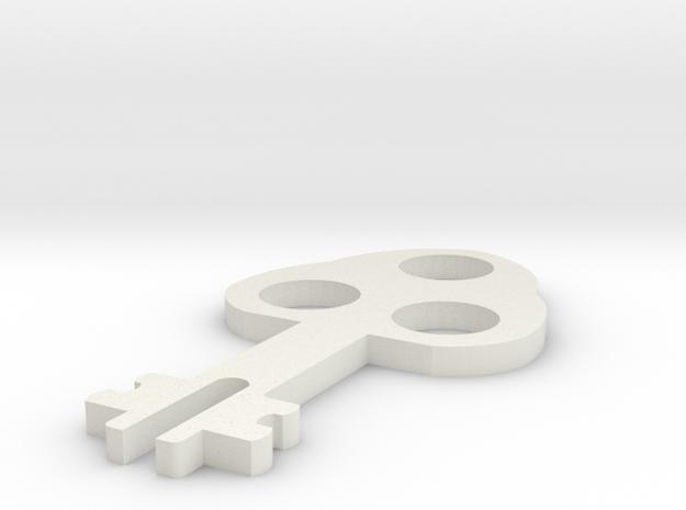 spaarpot sleuteltje in White Strong & Flexible