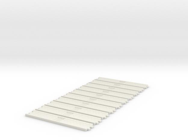 Breite Rinne 46cm in White Strong & Flexible