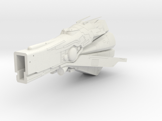 LoGH Imperial Konigs Tiger 1:3000 (Part 2/2) in White Strong & Flexible