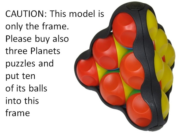 Planets Plus in Black Natural Versatile Plastic