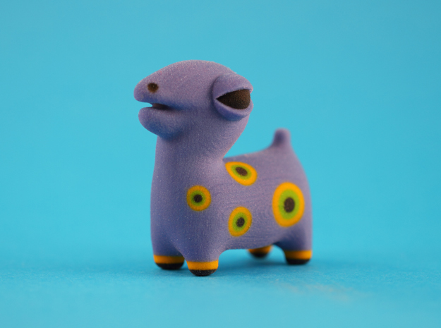 Spotted Blue Animal in Full Color Sandstone