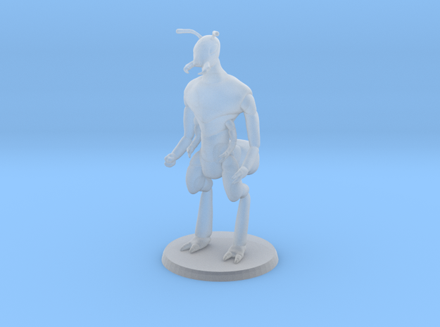 Ant Warrior (no weapon) in Smooth Fine Detail Plastic
