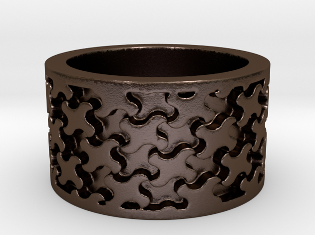 Escher 3 Ring Ring Size 9 3d printed
