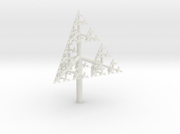 Sierpinski Tetrahedron Fractal Tree 3d printed