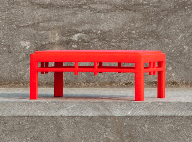 TORii master in Red Processed Versatile Plastic