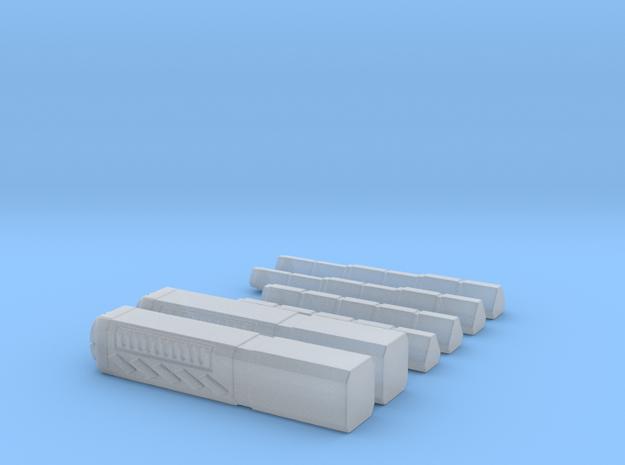 Railguns in Smoothest Fine Detail Plastic