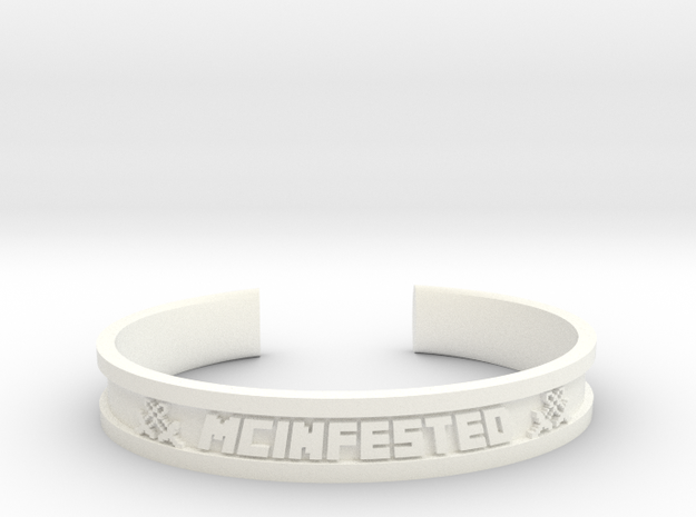 McBracelet (3.8 Inches) Maximum in White Processed Versatile Plastic