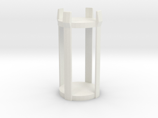 Mini Marker - Flying in White Natural Versatile Plastic
