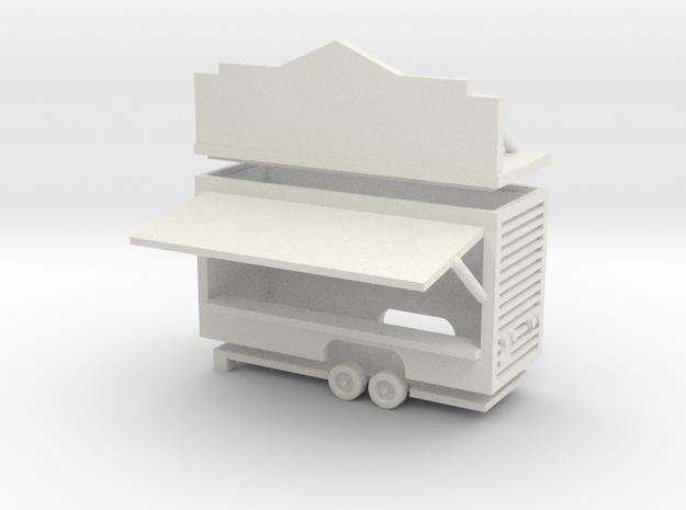 Gametrailer - 1:220 (Z scale) in White Strong & Flexible