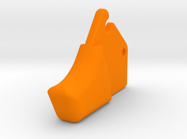 XQ-Bow Trigger in Orange Processed Versatile Plastic