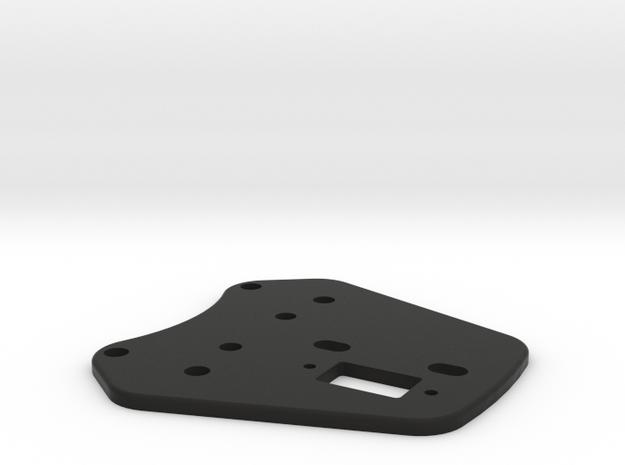 WRC Front Paddle Assemble in Black Natural Versatile Plastic