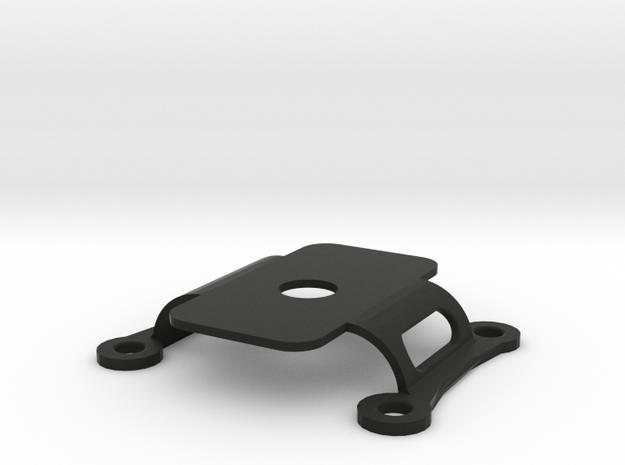 Mobius Mount 2 Upper 0 Degrees in Black Natural Versatile Plastic