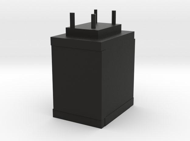 Stackable Nintendo Ds Case Shelf Mk. 1.0 in Black Strong & Flexible