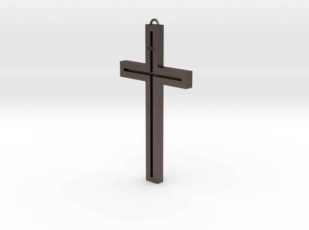 Modern Cross in Stainless Steel