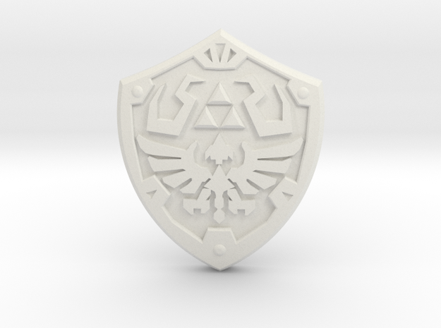 Royal Shield III 3d printed Painted Frosted Ultra Detail