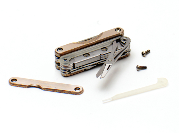 Leatherman Squirt Tweezer & Scissor Spacer Combo 3d printed