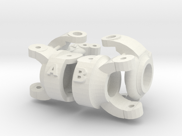 Kingpin Inclination Chub Knuckle Losi Mrc 3d printed