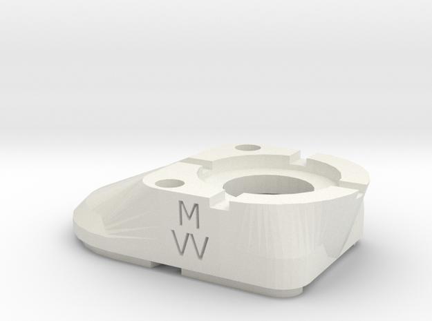 Icap 20 FDV in White Natural Versatile Plastic