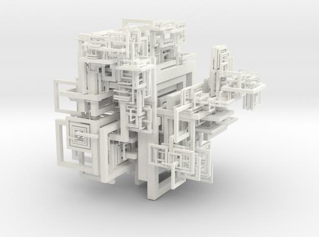 Square torus packing 3d printed