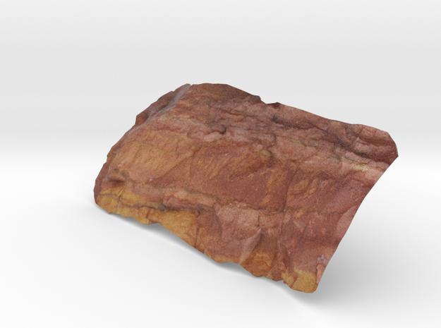 Scratchings, rock art 3d printed