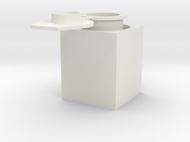 eppendorf tube in White Natural Versatile Plastic