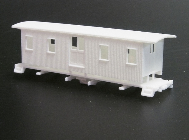 HOn30 30ft Baggage Car A
