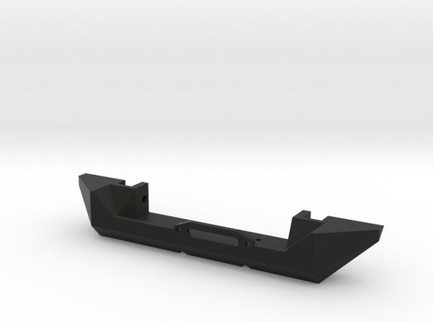 JK Simple Winch Bumper - Gelände 2 in Black Natural Versatile Plastic