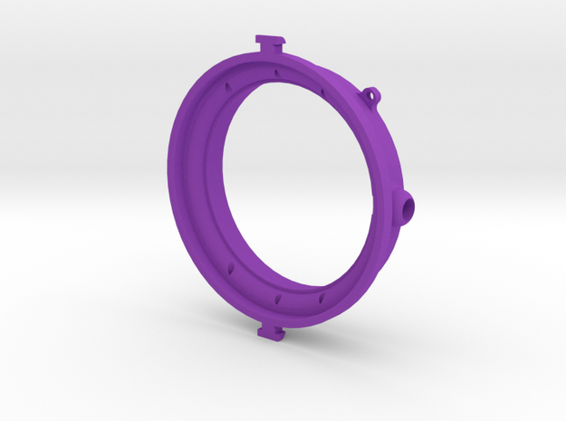 AEE SD21 adaptater chamber diving for filter M58 in Purple Processed Versatile Plastic