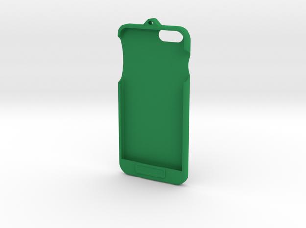 iPhone 6+ - LoopCase w FlexFace Button in Green Processed Versatile Plastic