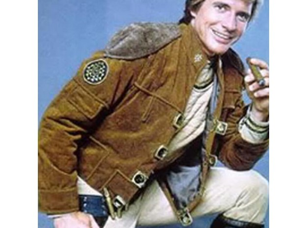 Buckle-R3 Spring side 3d printed As worn by Dirk Benedict, 1978