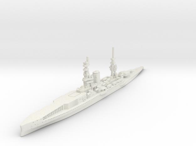 1/2400 HMS Furious BC-CV (1917) in White Natural Versatile Plastic
