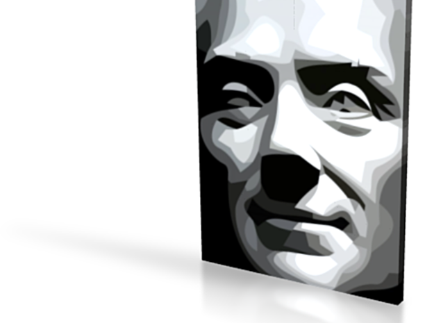 Spirit of Divisionism - flat - 3in 3d printed