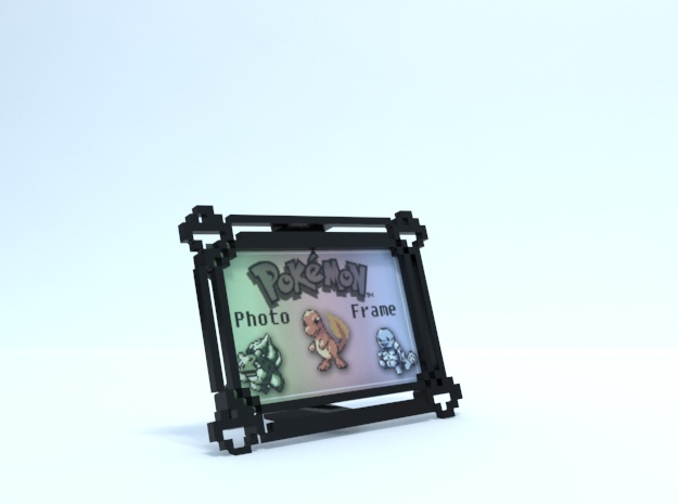 Pokemon Photo Frame (2x3) in Black Natural Versatile Plastic