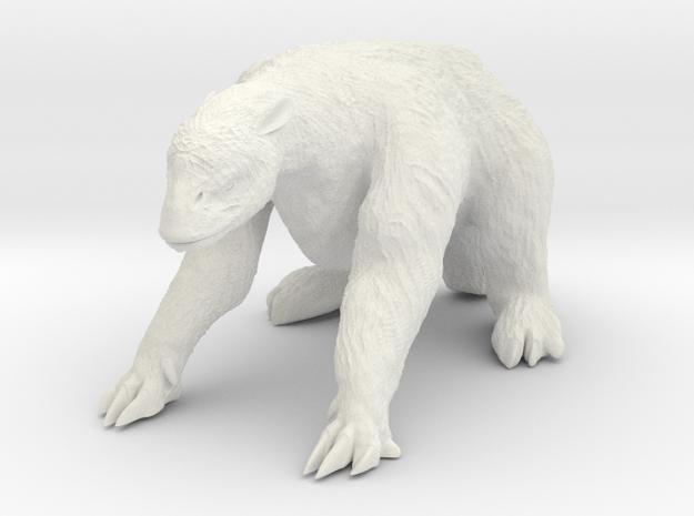 Megatherium 1 72(MEST 2015) in White Natural Versatile Plastic