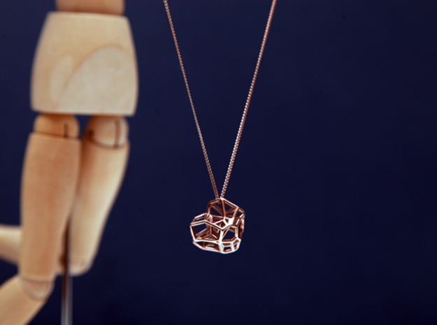 The Little Meteor in 14k Rose Gold Plated