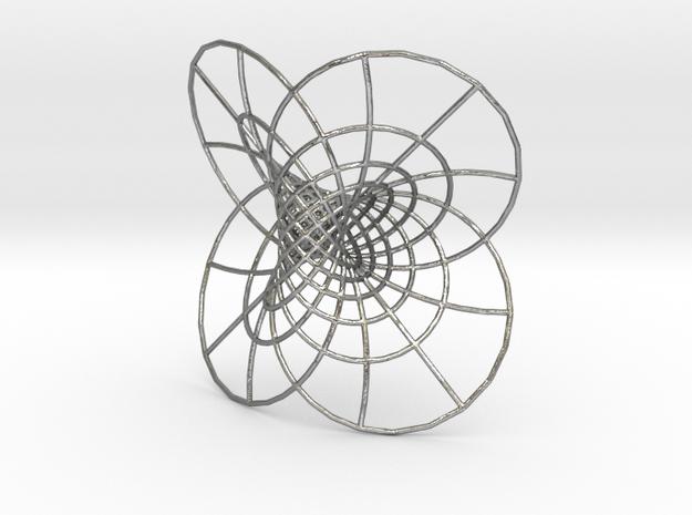 Hopf Fibration  in Natural Silver