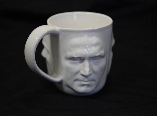 Viking Fury Coffee Cup 3d printed