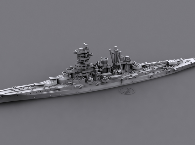 1/1800 IJN BB Kongo[1944] 3d printed Computer software render