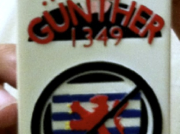 Vote Gunther iPhone Case 3d printed Painted Version