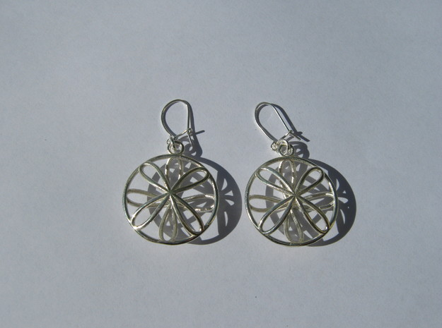 Viviani Earrings 4 3d printed