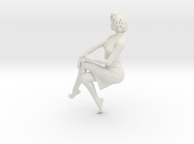 Lady sitting-026 scale 1/24 Passed
