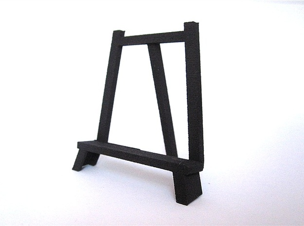 3D Relief Micro-Painting Stand in Black Strong & Flexible