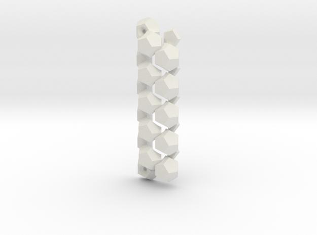 NoaII in White Natural Versatile Plastic
