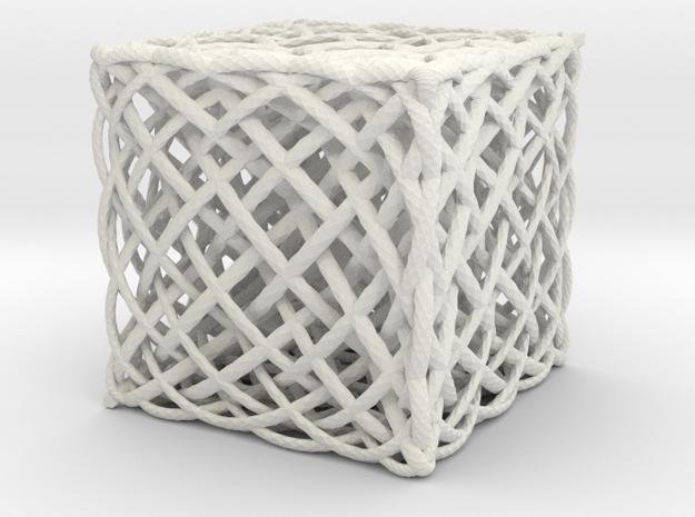 box of 7x5x3 ellipses in White Natural Versatile Plastic