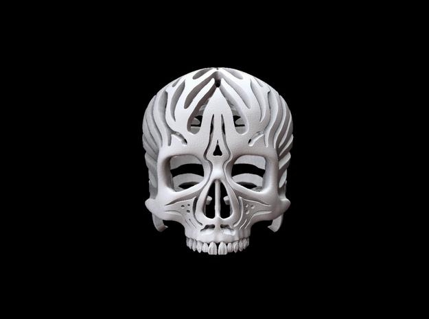 Skull Flames v2 - 2cm 3d printed