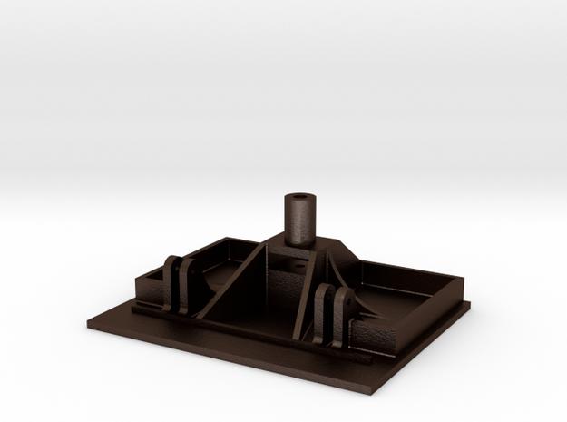 No. 23 Footplate #2599 .625 Plus 1% in Matte Bronze Steel