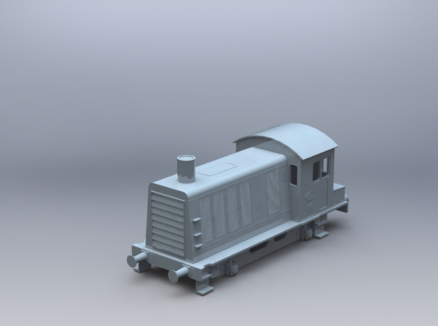 NS 400 Schaal H0 in Smooth Fine Detail Plastic
