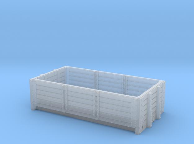 2mmFS S&DJR 5 plank open  in Smooth Fine Detail Plastic